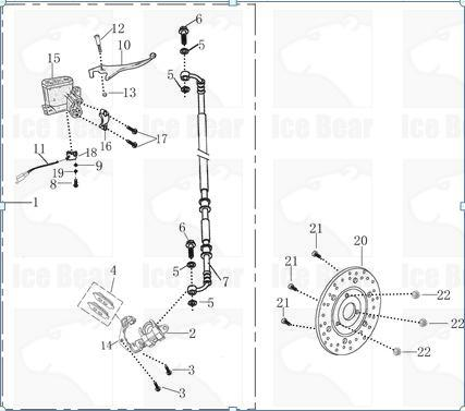 Ice Bear Pmz50 Scooter Wiring Diagram