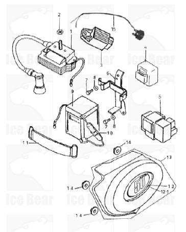 Mini Chopper Wiring Diagram For Electric Start With