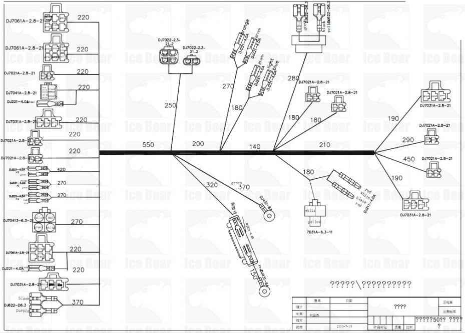ice bear 50cc scooter wiring diagram