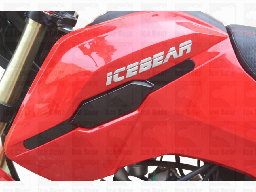 125cc, Air Cooled, 4 Stroke, 4 speeds Manual, Front/Rear