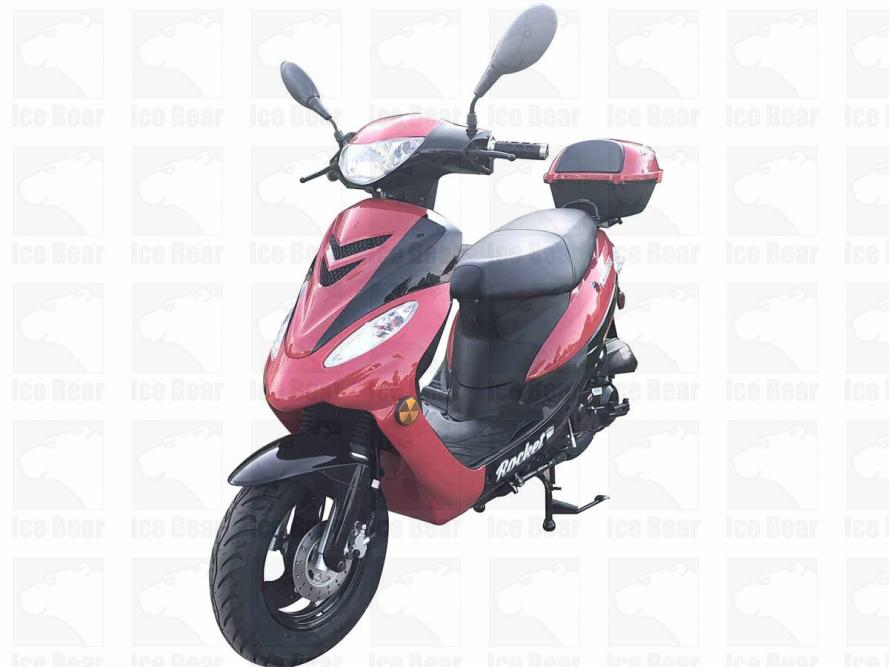 49 5cc, Air Cooled, Automatic, Front Disc, Rear Drum Brake